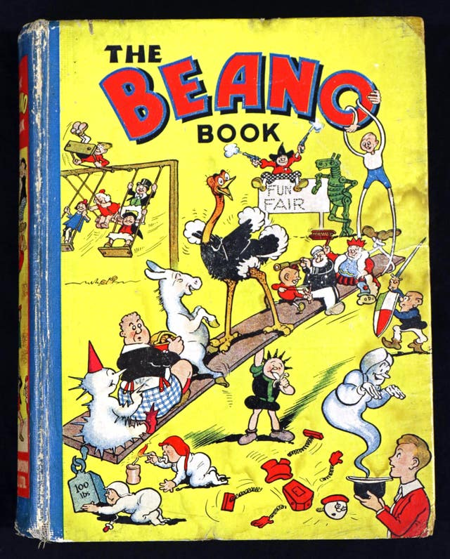 First Beano Annual auctioned