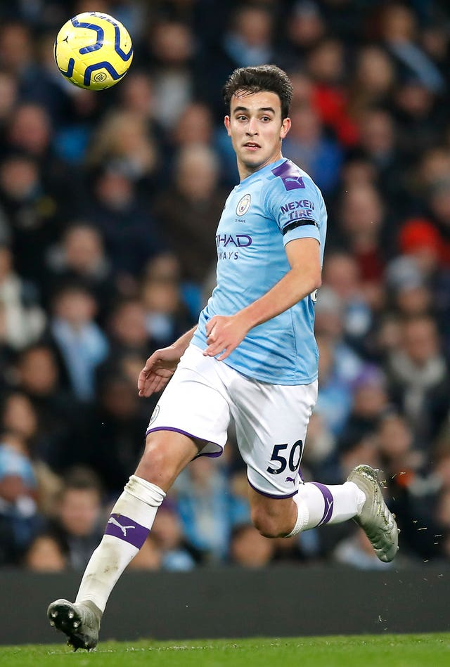 Eric Garcia could return for Guardiola's side