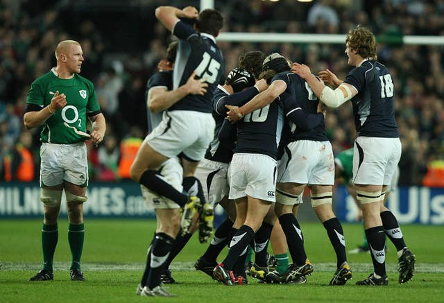 Scotland's only win in Ireland  in the Six Nations was at Croke Park in 2010
