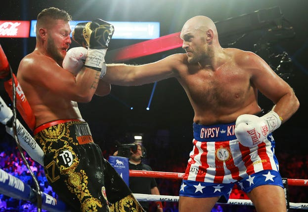 Tom Schwarz was no match for Fury in June