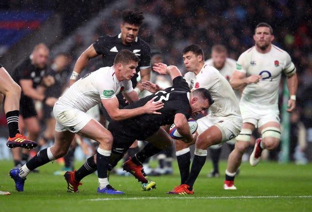 England v New Zealand – Quilter International – Twickenham Stadium