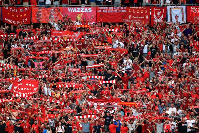 Just 0,1 per cent of an estimated 65,000 Liverpool fans who travelled to Champions League matches were involved in arrests overseas