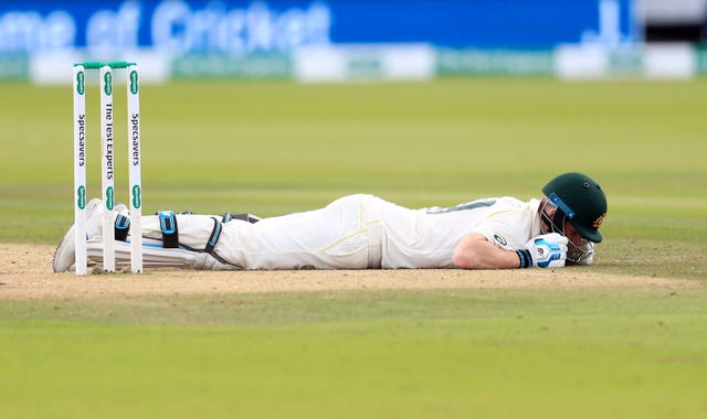 Smith was hit by Jofra Archer at Lord's