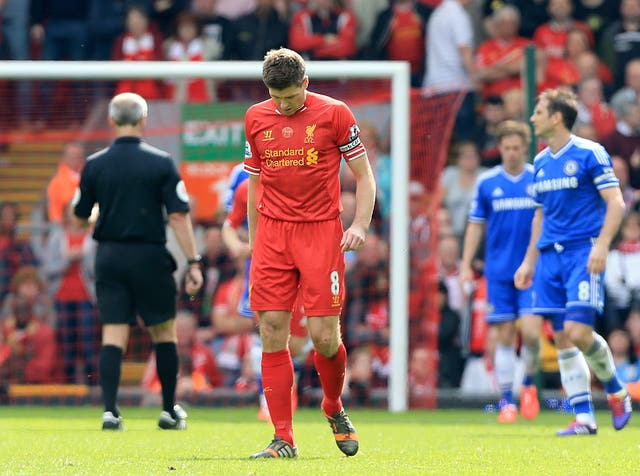 Gerrard has previously spoken about the anguish that followed his mistake against Chelsea in 2014