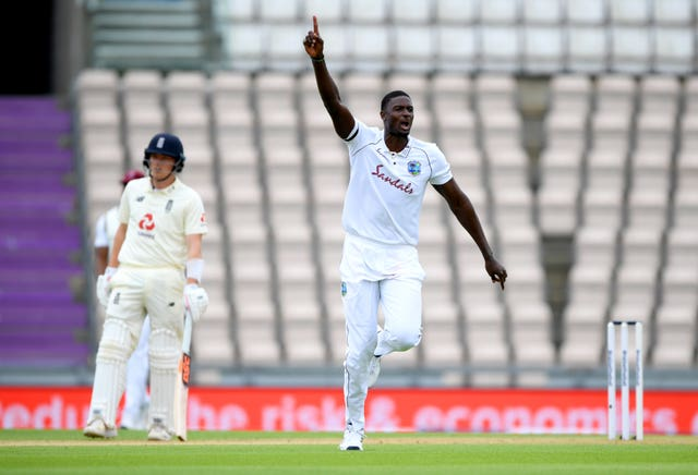 Jason Holder excelled with the ball at the Ageas Bowl
