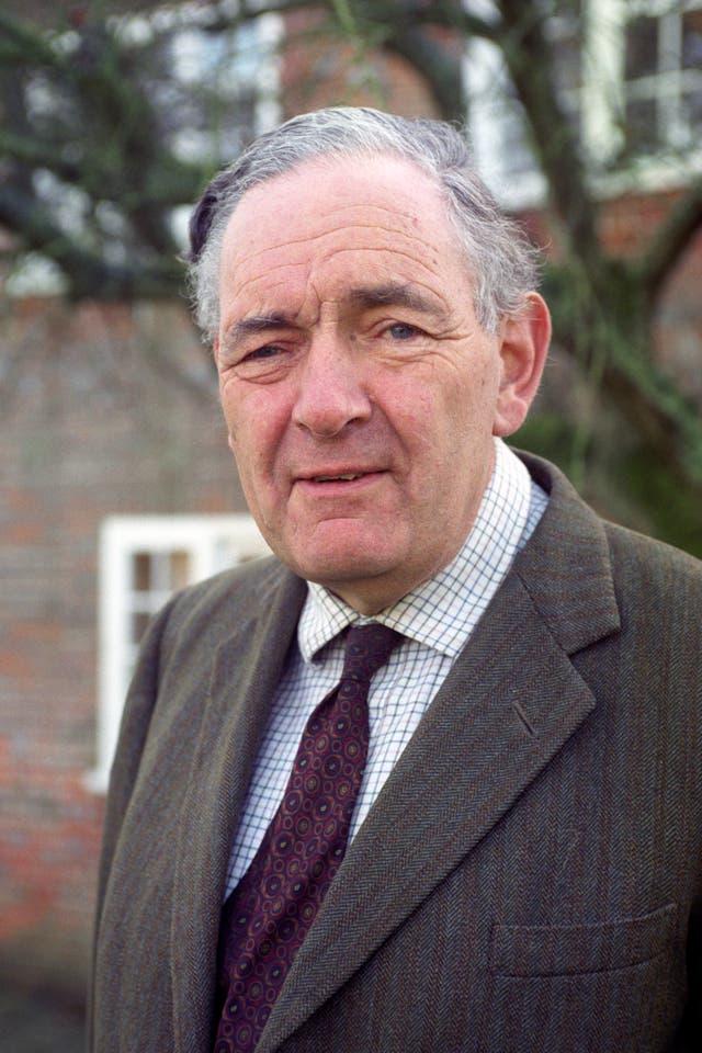 Tory MP Sir Richard Body
