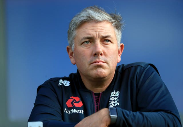 Silverwood is pleased with England's progress