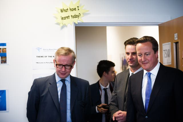 David Cameron and Michael Gove are understood to have fallen out as a result of Mr Gove's decision to campaign for Leave