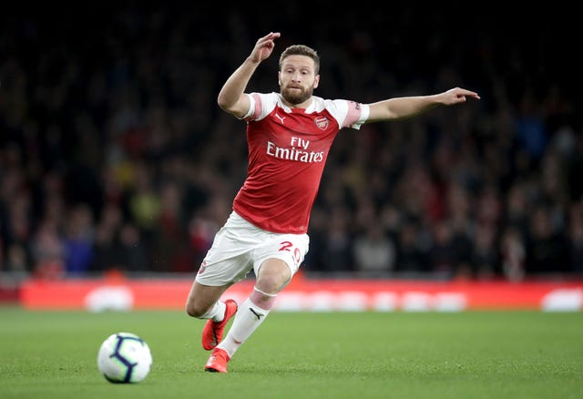 Arsenal defender Shkodran Mustafi had a bad day against Palace
