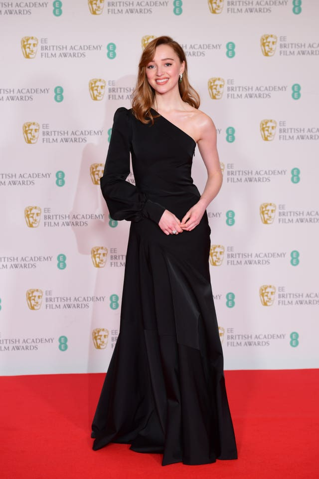 Phoebe Dynevor arrives for the EE BAFTA Film Awards