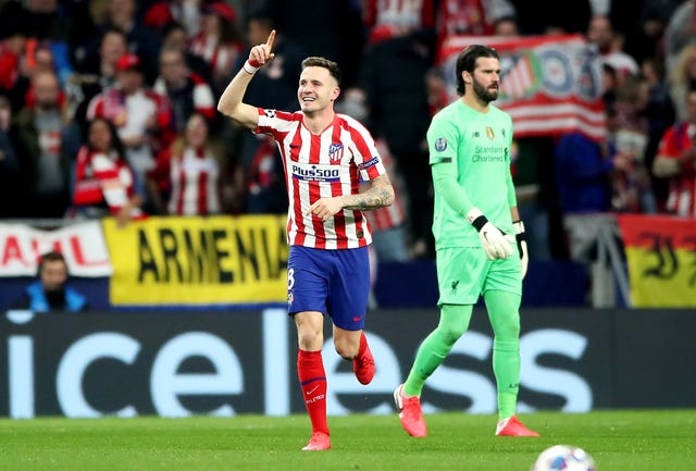 Saul Niguez scored the only goal of the game
