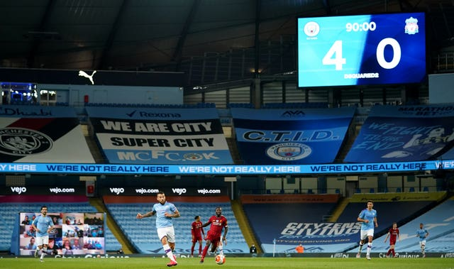 Manchester City thrashed Liverpool on Thursday
