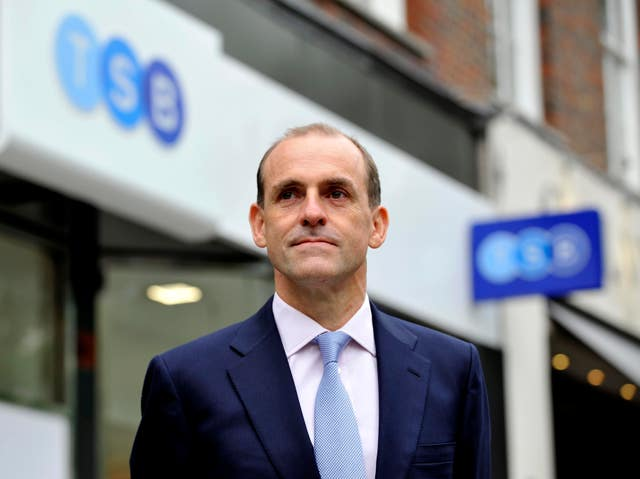 TSB chief executive Paul Pester apologised for the IT problems and said no-one would be left out of pocket (Nick Ansell/PA)