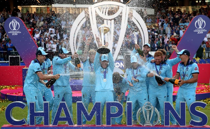 England won the men's and women's 50-over World Cups during Colin Graves' time as ECB chairman (Nick Potts/PA)