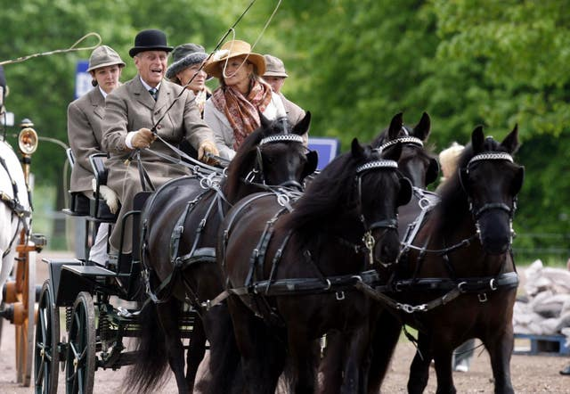 Equestrian – Carriage Driving – Royal Windsor Horse Show