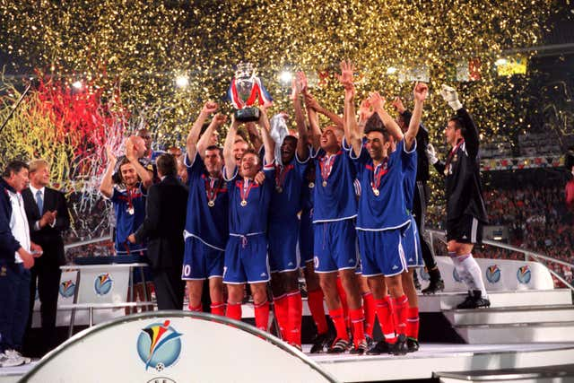 Euro 2000 was won by France as they added to their 1998 World Cup success (Mike Egerton/EMPICS).