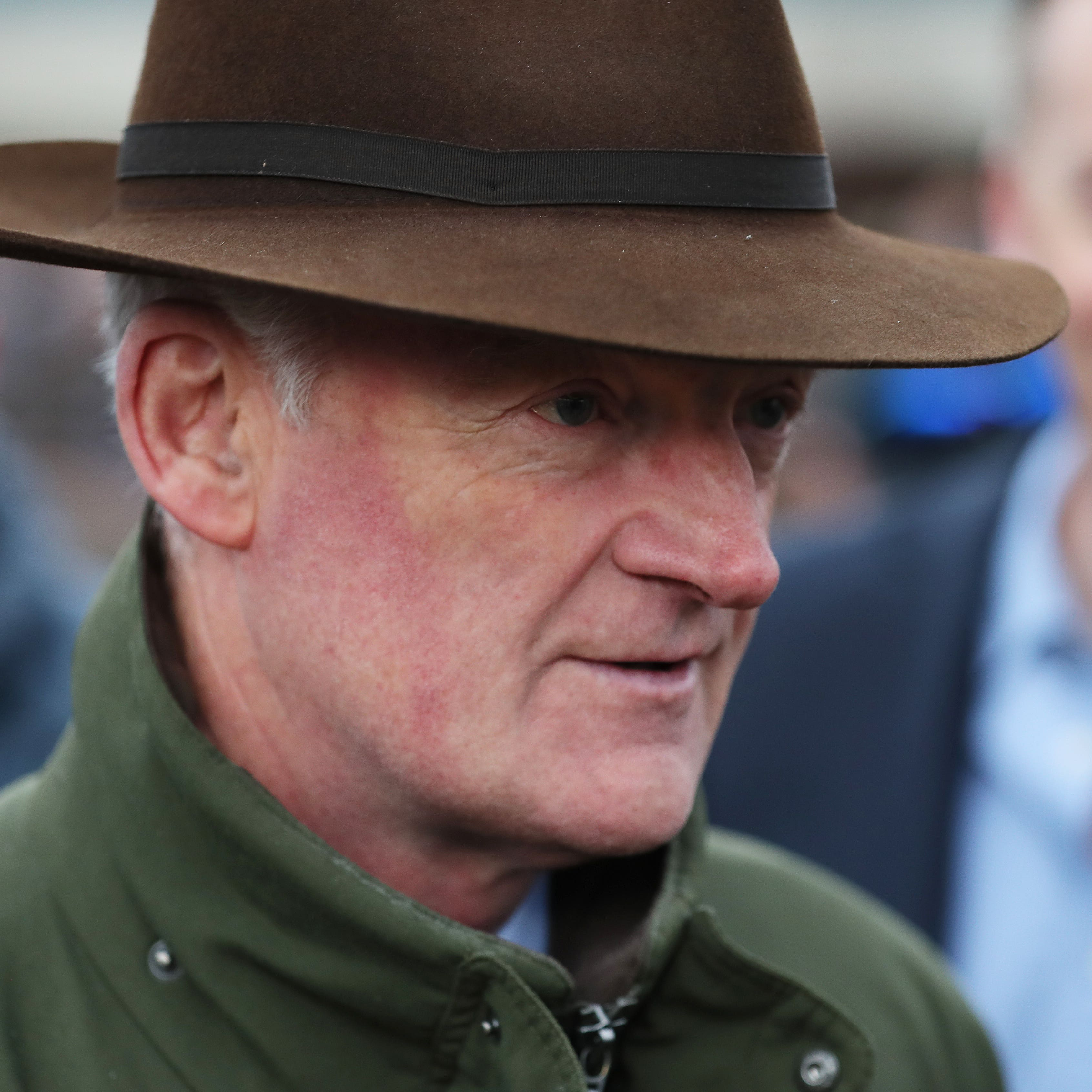 Willie Mullins saddles two runners in the Ryanair Gold Cup