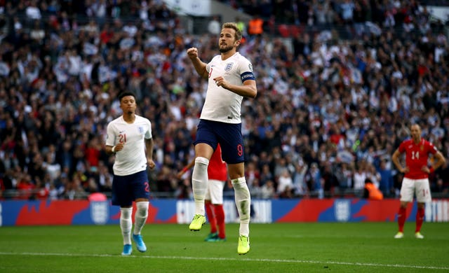 Harry Kane was the hat-trick hero against Bulgaria