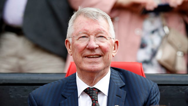 Sir Alex Ferguson was in charge at Manchester United for 26 years