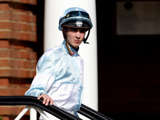 Joe Doyle pictured at Newmarket during his British spell