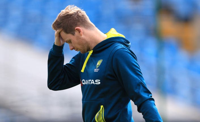 Smith appeared dejected in Leeds