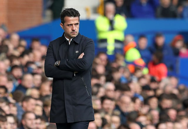 Marco Silva has endured a difficult season in the Everton dugout