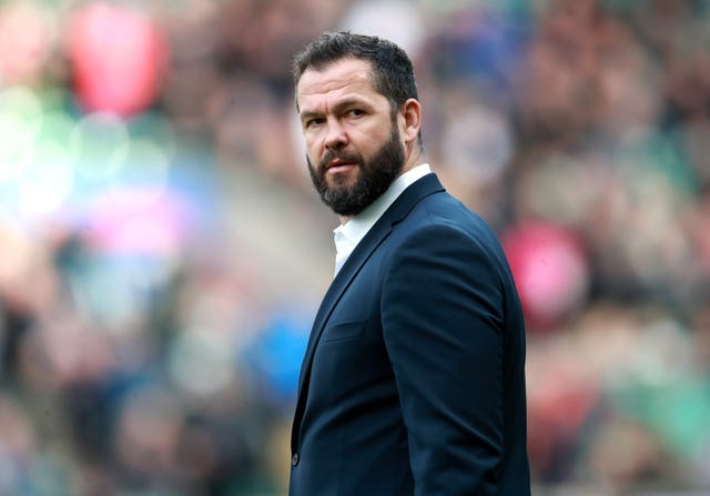 Ireland, coached by Andy Farrell, had their Six Nations games against Italy and France postponed