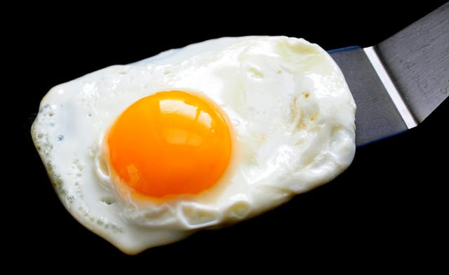 Eggs have been linked with an increased risk of cardiovascular disease (PA)