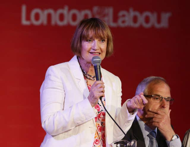 Tessa Jowell spoke emotionally about her diagnosis (Yui Mok/PA)