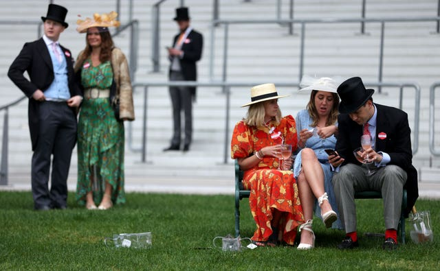 Royal Ascot's crowds were restricted to 12,000 this year