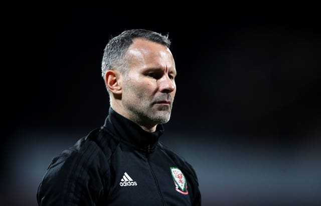 Ryan Giggs moved straight into the hotseat at Wales