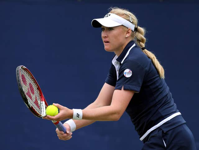 Elena Baltacha was a long-time British number one