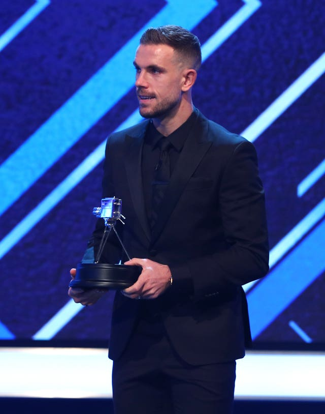 Jordan Henderson was the runner-up in the BBC's Sports Personality of the Year poll