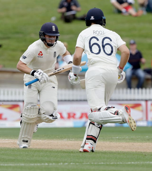 England's Ollie Pope and Joe Root