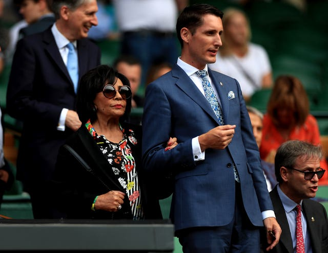 Dame Shirley Bassey at Wimbledon 2019 – Day Nine – The All England Lawn Tennis and Croquet Club