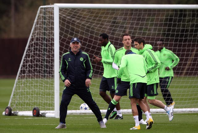 Ancelotti guided Lampard and his Chelsea team-mates to the 2010 title