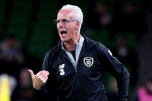 Mick McCarthy is looking to lead the Republic of Ireland into Euro 2020