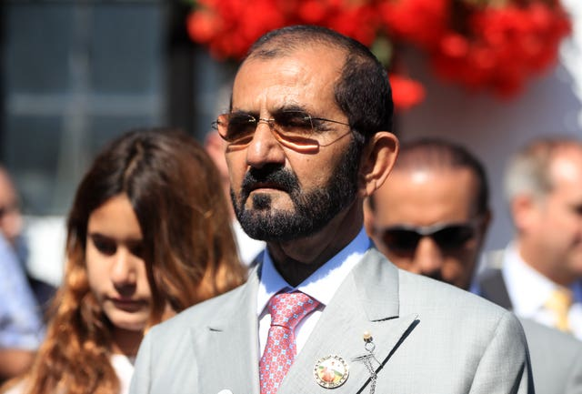 Sheikh Mohammed purchased Dark Vision during his two-year-old campaign (Simon Cooper/PA Images)