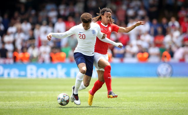 Alli, left, has been not been named in the last three England squads