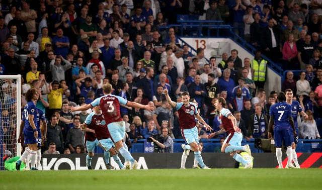 Burnley picked up a point at Stamford Bridge