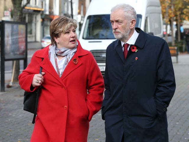 Shadow foreign secretary Emily Thornberry campaigned for Remain (Jonathan Brady/PA)
