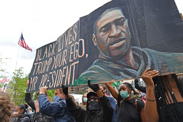 The death of George Floyd prompted protests around the world (Stefan Rousseau/PA)