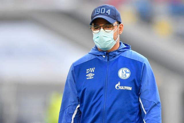 Schalke's head coach David Wagner under mounting pressure