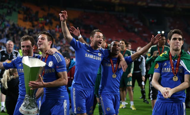 Chelsea won the Europa League in 2013