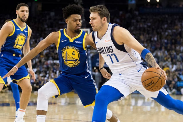 The Dallas Mavericks condemned the Golden State Warriors to a 126-91 defeat - their heaviest at home since 2007