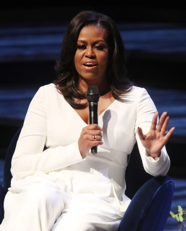 Michelle Obama paid tribute to Wilson Jerman (Yui Mok/PA)