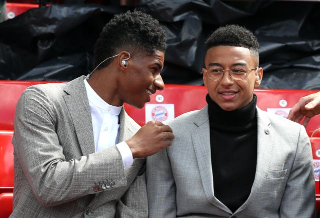 Marcus Rashford and Jesse Lingard are close friends as well as team-mates