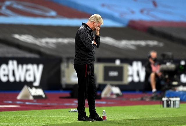 West Ham boss David Moyes has seen his team open the new Premier League campaign with successive defeats