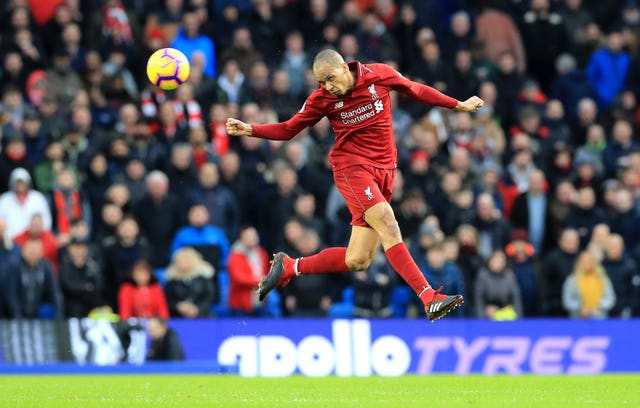 Fabinho could line up in defence on Tuesday
