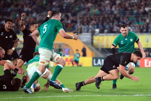 New Zealand v Ireland – 2019 Rugby World Cup – Quarter Final – Tokyo Stadium
